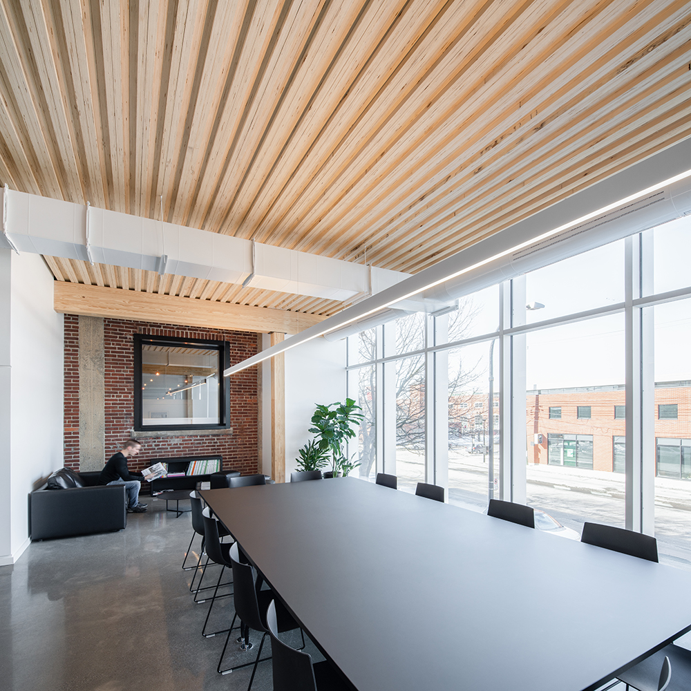 Jodoin Lamarre Pratte Architects Office Expansion