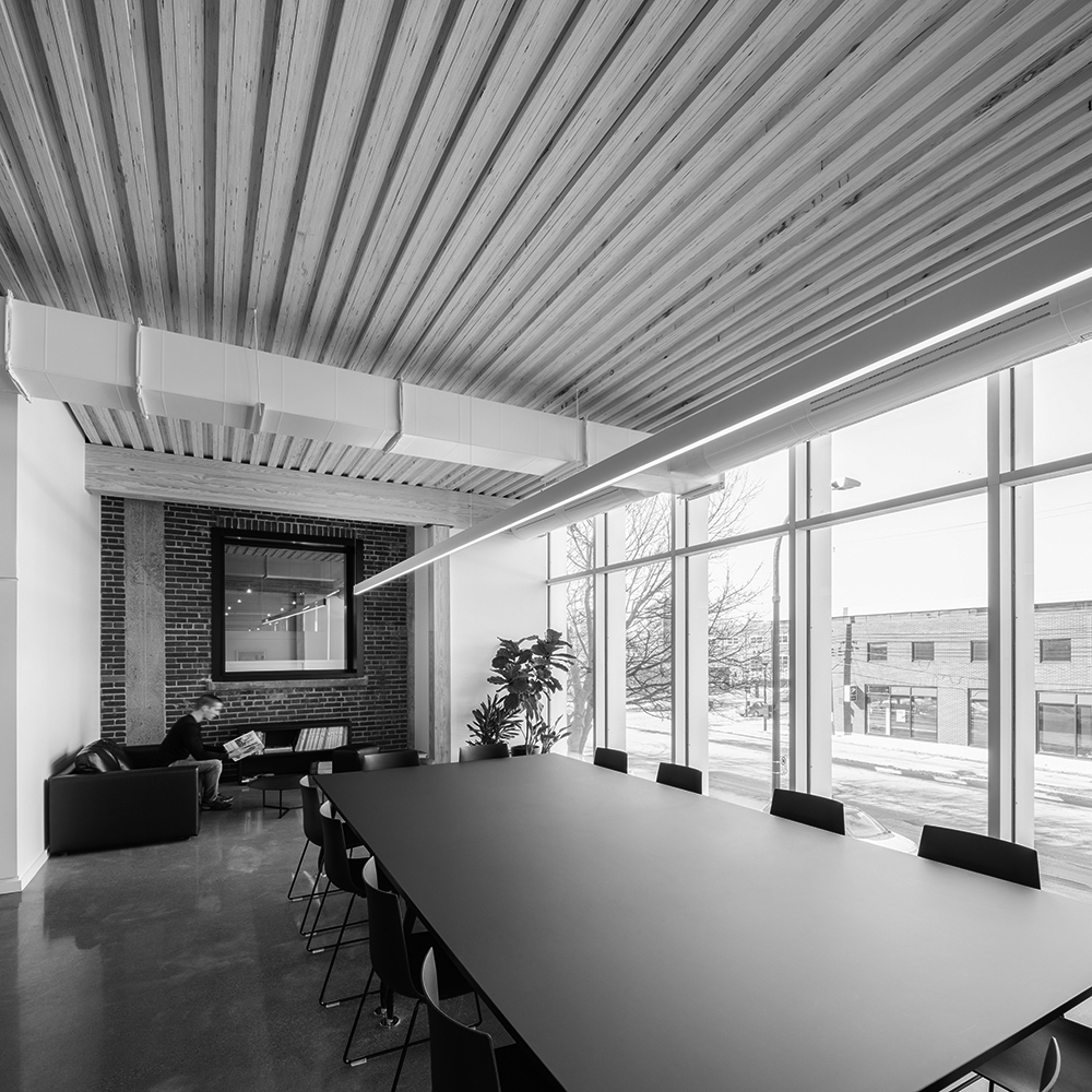 Jodoin Lamarre Pratt Architects Office Expansion
